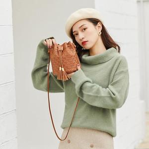 Single Shoulder bag for women Female bag Mini net red bucket mobile phone Messenger ladies small