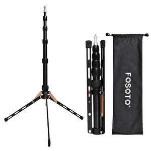 FOSOTO FT-140 Светодиодная подставка для света портативный штатив для фотографического освещения вспышки зонтики отражателя фото студия камеры телефон1