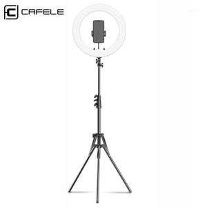 Cafele LED Ring Light Flash USB 15 Zoll Ringlampe Selfie mit Stativfotografie Light Phone Halter Stand für Make-up YouTube VK1