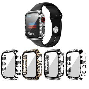 Caja del reloj de PC para la serie de Apple Watch 5 4 3 2 1 Caso 42mm 38m 40mm 44mm Cubierta protectora IWATCH