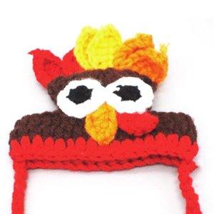 Kediler Dog için Cadılar Bayramı Pet Cosplay Türkiye Şapka Sevimli Yenilikçi Dekor Komik Parti Kostüm Şapkalar Komik Giyim Aksesuarları