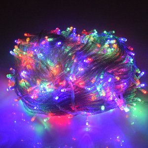Led Christmas Lights Outdoor 100m 50m 30m 20m 10m Holiday Led String Lights Decoration for Party Holiday Wedding Garland