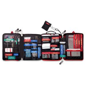 Handy primeiros socorros saco médico impermeável para caminhadas camping Ciclismo carro Outdoor Viagem Survival Kit de Resgate Tratamento C1008
