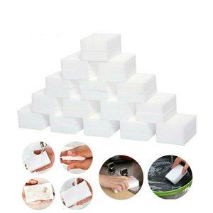 Bianco melamina spugna magica spugna della melammina Pulitore per la cucina Ufficio Bagno a secco Nano Spugne DWB2898