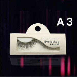 1 pairs false eyelashes natural 3d mink lashes mink eyelashes Professional makeup full strip A3