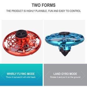 Mini Drone Ufo Hand Operated Flynova Flying Fidget Spinner Rc Helicopter Infrared Induction Aircraft For Kid bbyWuV bdetoys