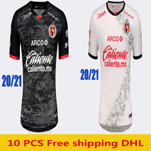 2020 Mexique LIGA MX Club de Tijuana Soccer Jerseys 2020 Accueil Red LUCERO RIVERO BOLANOS Football Shirt Club Tijuana Loin Uniform de football