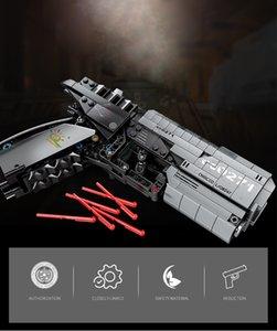 Huiqibao Technic Wandering Terre Gun Signal jeu Building Blocks Set Ville Brique Diy Tir jouet éducatif pour les enfants qylfuB