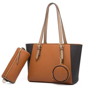 PU Leather Embroidery Women Handbags Totes Bag Fashion Top-handle Crossbody Shoulder Bags Handle Tassel Messenger Bag Brown