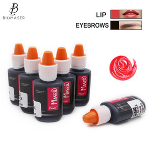 Professional Semi Permanent Makeup Pigments Inks for Lips Colors Tattoo Color Microblading Pigment Eyebrow Tattoo Color Inks