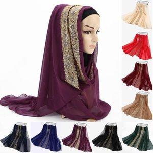 Fashion Modal Cotton Jersey Hijab Scarf Long Muslim Shawl Plain Soft Turban Tie Head Wraps For Women Africa Headband #G9551