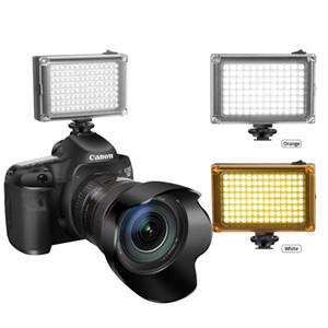 49 96 LED de video LED en la cámara Photo Iluminación bombillas Hotshoe Lámpara Luz para DSLR Boda Fotográfica Fotográfica PhotoFlood Lámpara