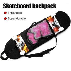 Backpack Singe Shoulder Solid Cover Adjustable Thicken Skateboard Bag Professional Carry Longboard Travel Outdoor Accessories1
