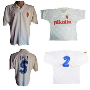 1994 1995 Real Zaragoza Ретро Футбол Джерси 94 95 Poyet Pardeza Nayim Higuera Vintage Classic Футбол