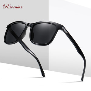 2020 Retro Fashion Sunglasses Man Women Polarized Sun Glasses for Male Square Classic Eyewear with Packaging Goggle
