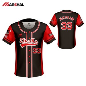 Jersey de baseball design personnalisé pour hommes Plein Sportswear Sportswear Shirts de sport Camisa Beisebol Riveback Baseball Jerseys Y200824