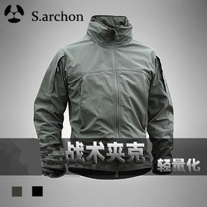 S. Archon Lightweight Cidade Tactical Soft Shell Stormsuit Tactical Jacket Windproof Jacket Waterproof