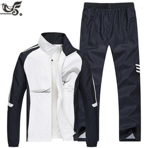Men's Tracksuits Brand Tracksuit Men Two Piece Clothing Sets Casual Jacket+Pants Outwear Sportsuit Spring Autumn Sportswear Sweatsuits Man1