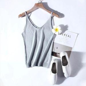 Marwin New coming Summer Autumn Silm Sexy V neck Knit Shiner Base Shirt Gallus Waistcoat Women sweater Drop Shipping
