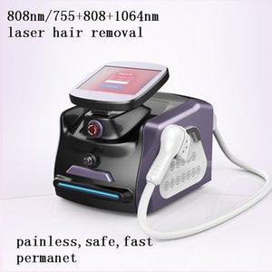 808 a diodi laser permanente professionale snodo 808nm Depilazione con 3 onda 755 808 1064 Nm Capelli e ringiovanimento della pelle