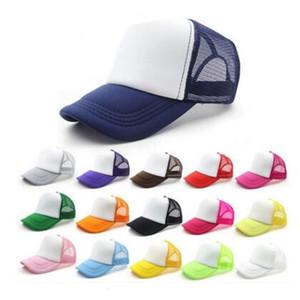 14 renkler çocuklar kap yetişkin örgü kapaklar boş kamyon şoförü snapback şapkalar acept özel yapımı ücretsiz kargo