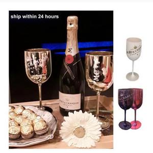 2 adet noel kutlamak parti şarap bardakları kırılmaz düğün beyaz moet şampanya kupaları kokteyl flüt kadeh akrilik zarif bardaklar