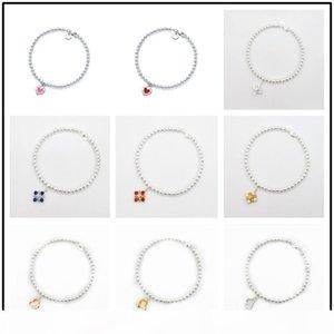 Popular Jewelry 1:1 Ti f 4mm beaded chain Sterling Silver 925 enamel bracelet same style