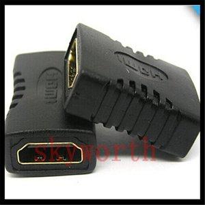 HDMI إلى HDMI أنثى محول الأسود المقرنة F / f extender محول موصل النجار 1.4 1080P
