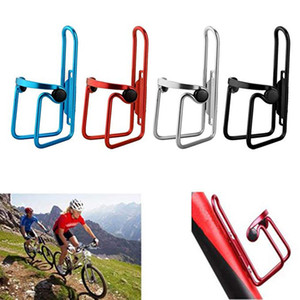 MTB Bicycle Water Bottle Holder Aluminum Alloy Mountain Bike Bottle Can Cage Bracket Cycling Drink Water Cup Rack Accessories