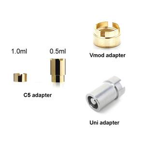 Komodo C5 Vmod II adaptadores Yocan Uni Conector anular Pro magnética para cartuchos vaporizador 510 Thread
