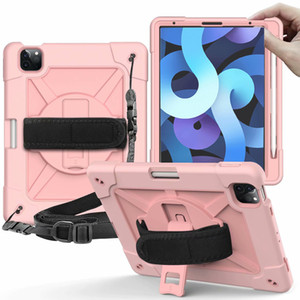 for ipad air 4 10.9 10.2 ipad 7 8 mini 5 9.7 Tab A T290 T500 T510 Defender shockproof Robot Case military Extreme Heavy Duty silicone cover