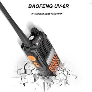 Walkie Talkie Dual Band Baofeng UV-6R Two Way Radio Alarm Function UHF VHF