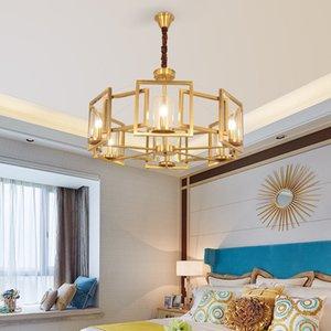 Современные светодиодные Double Spiral Gold Люстра Освещение для Фойе лестничные Лестница Спальня Отель Hallceiling Подвесной Подвесной светильник