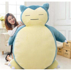 Squirtle Dolls 19.7inch Cute Snorlax Plush Doll Soft Stuff Toy Stuffed Animals For Baby Gifts Size 55cm 30 cmKTQL