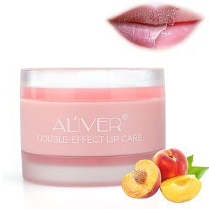 DOUBLE EFFET Lip Care Baume Repair Lèvres intensif Lèvres Masque de traitement et les lèvres Gommage 2 en 1 masque de sommeil avec le collagène Peptide