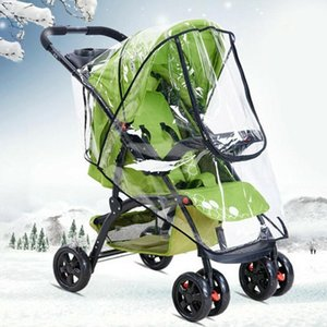 Universal stroller rain cover stroller rain cover windshield windshield warm raincoat car P9C0 umbrella stroll baby w F6P5