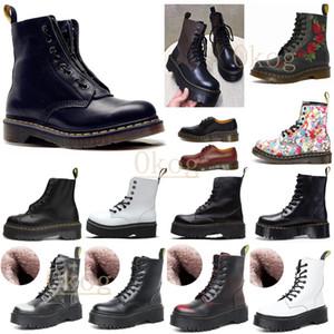Designers Uomo Donne Ankle Doc Desert Boot Boot Cowboy Combattimento con pelliccia Martins in pelle inverno stivali da neve scarpe