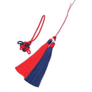 1set Pack Polyester Borla Fringe Trim con 12 cm Tassels de seda de algodón para decoración de bodas Hecho a mano DIY Cortinas de costura Accesorios H Jlljvy