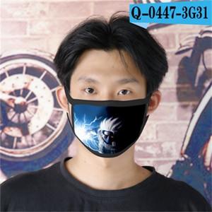 Designer Factory Outlet naruto Ao Cubrebocas Designer Tapabocas riutilizzabile Cartoon Face Mask 05 design di lusso