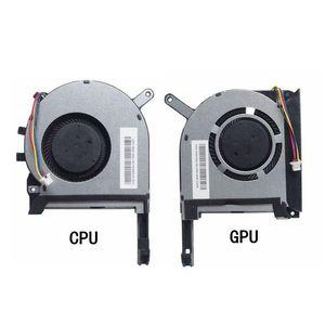 FAN 17.3 COOLING ASUS FX705 FX705G FX705GM FX86 FX86SM FX505 FX505D FX505DU 노트북을위한 새로운 CPU GPU 냉각 팬 쿨러