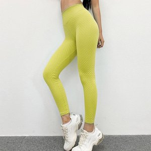 2020 New Fitness Pants Yoga Pants Women Seamless Tights High Waist Hip Quick-drying Gym Breathable Sports Women