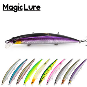 Magic Lure Brand Newest Kylin L115F Floating Jerkbait Minnow lure artificial plastic wobbler baits for pike bass fish fishing 201112