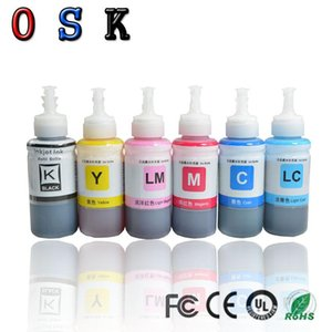 OSK 70ML Ink Refill Kit kompatibel L800 L801 L805 L810 L850 L1800 Druckertinte T6731 T6732 T6733 T6734 T6735 T6736