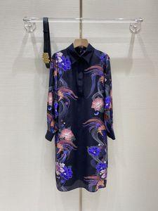 2021 Début Spring Limited Edition Positionnement Silk chemise jupe femme de luxe de luxe vêtements femmes jupes longues livraison gratuite
