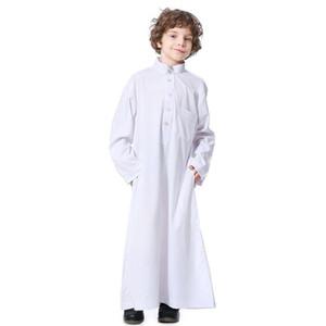 2020new arrival autumn fashion muslim children plus size Jubba Thobe S-3XL