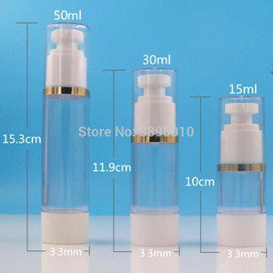 15ml 30ml 50ml airless bottle vacuum pump bottle lotion used for Cosmetic Containe F1034