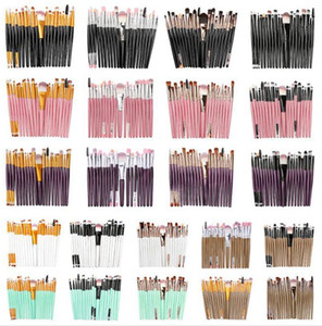 20Pcs set Professional Makeup Brushes Set Cosmetic Makeup Brushes Foundation Eyeshadow Brush Fan Kit Powder Makeup Beauty Tool Kit
