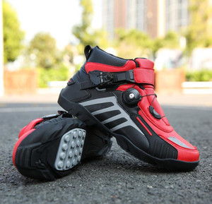 2020 motorcycle riding shoes men's four seasons off-road motorcycle boots racing short boots winter and summer motorcycle equipment