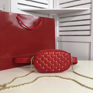 2020 fashion luxurys designs bags rivet waist bag multi-purpose ladies trend bag