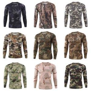 Atmungsaktive männliche Tops Frühling Herbst Designer Herren Tshirts Slim Long Sleeve Farbe Herren T Shirts # 623
